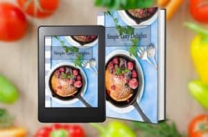Image of Lindsay's Simple Tasty Delights cookbook