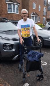 Derek Wood - Coordinator of Farnham Support Group and Ataxia Centre volunteer