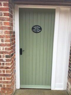 Image of cottage door