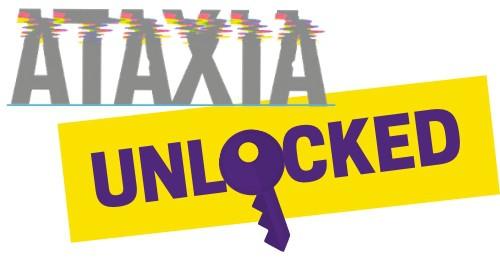 Photo of ataxia unlocked logo