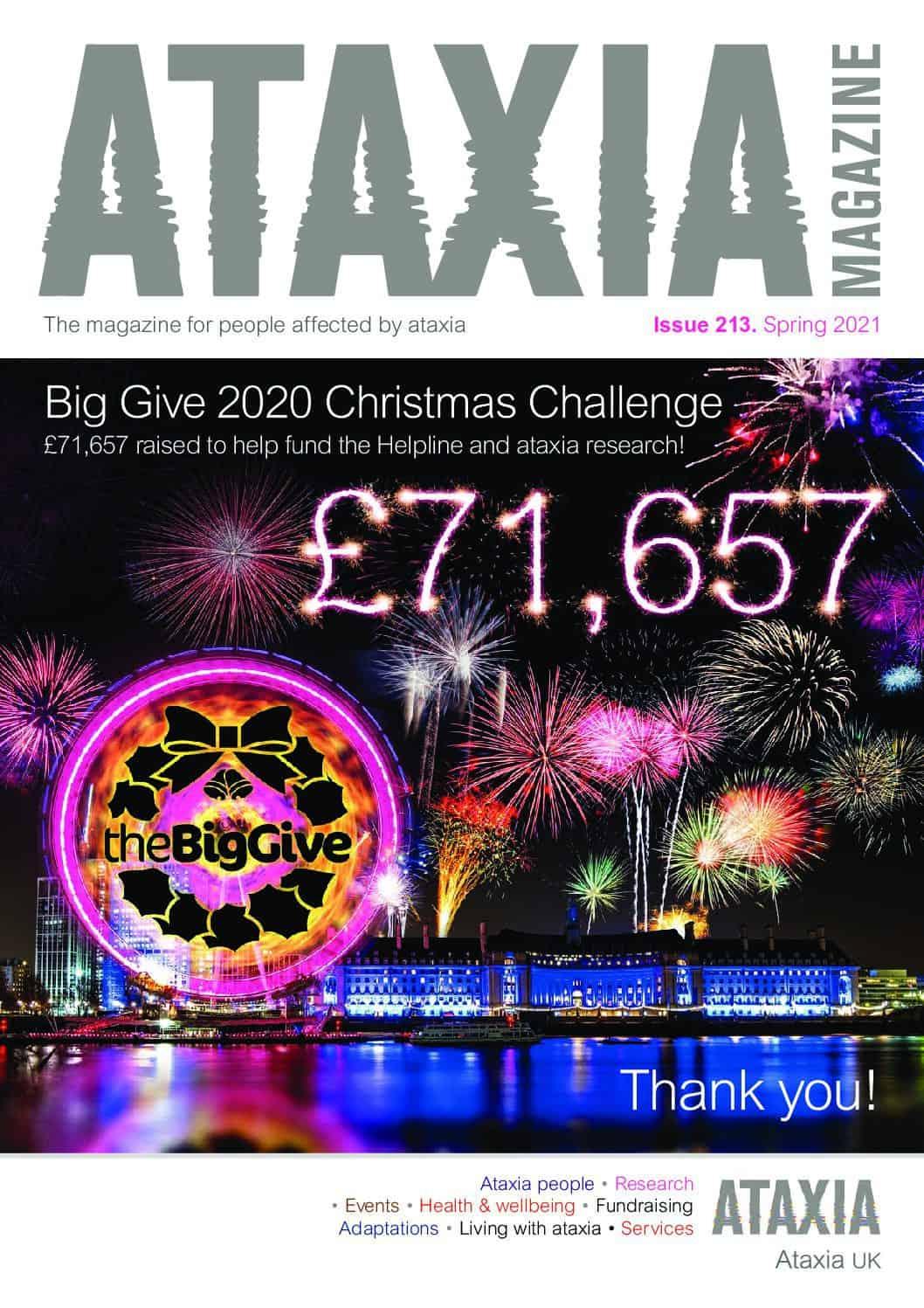 Ataxia Magazine 213 low res